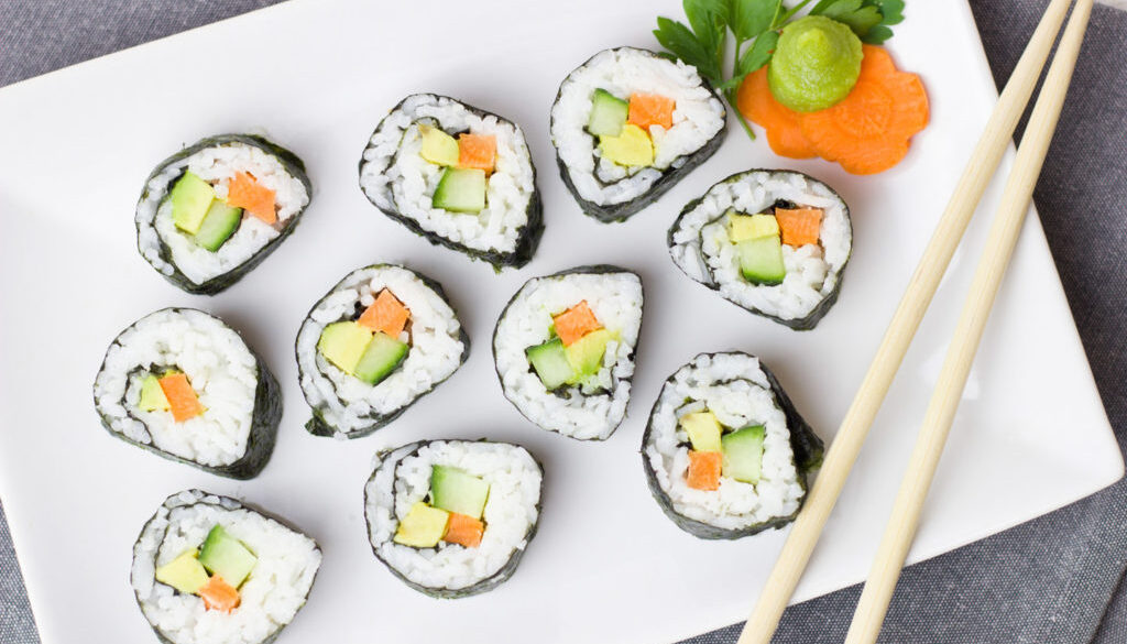 Vegetarian Lover's Sushi